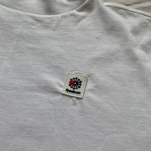 White Reebok T-Shirt